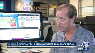 Download Black Friday store deals will start early to compete with giant online retailers Video