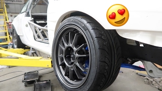 Download THE BEST TIRES FOR DRIFTING?! (REAR PBM KNUCKLE INSTALL) Video