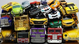 Download Full Transformers Stop motion - Optimus Prime, Bumblebee, Tobot Robot & Lego Animation Car Kids Toys Video