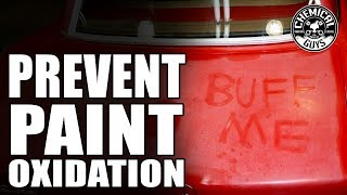 Download How To Prevent Paint Oxidation - Chemical Guys Car Care Video
