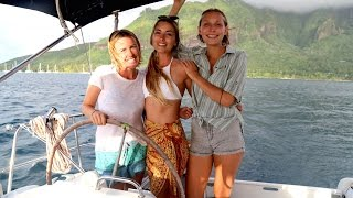 Download Sailing with 3 Girls in French Polynesia… (Sailing La Vagabonde) Ep. 59 Video