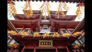 Download [4K] 2019 Walking around Chinatown street food, temples and shopping, Singapore Video
