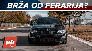 Download NAJBRŽA ŠKODA U SRBIJI! ŠKODA OCTAVIA RS 426hp Video