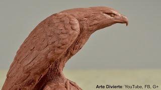 Download Cómo esculpir y moldear un águila en plastilina - Arte Divierte. Video