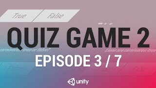 Download Quiz Game 2 - Serialization and Game Data [3/7] Live 2016/11/25 Video