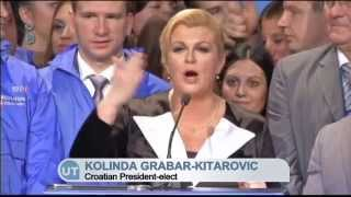 Download Croatia Welcomes New President: Kolinda Grabar-Kitarovic becomes country's first female leader Video