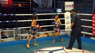 Download MuayThai Fight Junior Thai Boxing at Superfight Thepprasit Pattaya 2013 Video