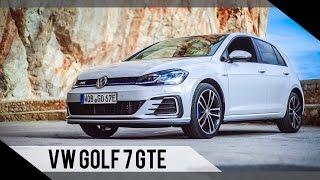 Download Volkswagen Golf 7 GTE Update   2017   Test   Review   Fahrbericht   MotorWoche Video
