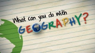 Download What can you do with geography? Video