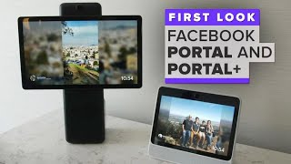 Download Facebook Portal first look: Next level Messenger video chat Video