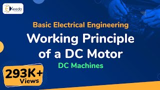 Download Working Principle of a DC Motor - DC Machines - Basic Electrical Engineering - First Year Engg Video