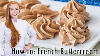 Download How To Make French Buttercream Video