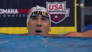 Download Olympic Swimming Trials | Michael Phelps Out-Touches Ryan Lochte In The 200m IM Video