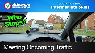 Download Meeting Oncoming Traffic | Learning to drive: Intermediate skills Video