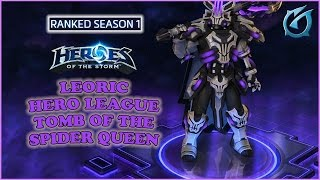 Download Grubby | Heroes of the Storm | Leoric - Hero League - Season 1 - Tomb of the Spider Queen Video