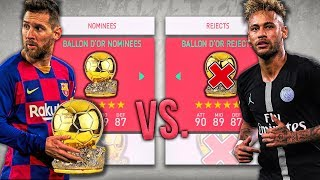 Download Ballon D'Or NOMINEES vs. Ballon D'Or REJECTS! - FIFA 20 Career Mode Video