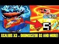 Download XCALIUS X3 + DOOMSCIZOR D3 AND MORE! BEYBLADE BURST EVOLUTION APP GAMEPLAY Video