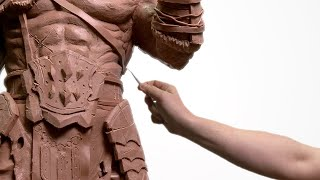Download GIANT Monster Clay Sculpture!! *EPIC* Video