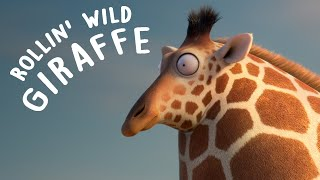 Download ROLLIN' WILD - 'Giraffe ' - what if animals were round? Video