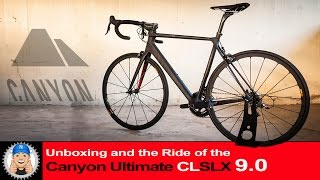 Download Canyon Ultimate CF SLX Road Bike Unboxing Assembly and Ride Video