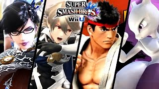 Download Super Smash Bros ALL DLC Character Trailers - Bayonetta, Corrin & More (Wii U, 3DS) Video