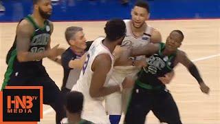 Download Joel Embiid & Terry Rozier Skirmish / Celtics vs Sixers Game 4 Video