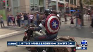 Download Superhero 'Colorado Captain' hitting the road to raise money for kids with cancer Video