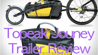 Download Topeak Journey BIKE TRAILER Review | Hands On Video