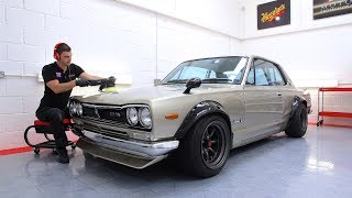 Download NISSAN SKYLINE HAKOSUKA GTR DETAILING Video