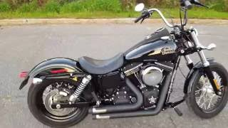 Download 2013 Harley Street Bob with Crusher exhaust! Video
