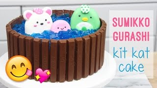 Download How to Make a Sumikko Gurashi Kit Kat Cake! Video