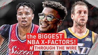 Download The Biggest NBA X-Factors | Through The Wire Podcast Video