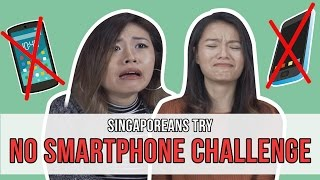 Download Singaporeans Try: The No Smartphone Challenge Video