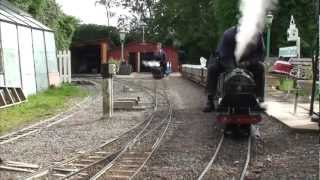 Download Steam Loco driving lesson at Parklands 7-1/4″ gauge Miniature Railway Video