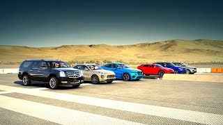 Download Forza 6: World's Greatest Drag Race! SUV (Urus, BMW X6, Macan, RANGE ROVER & More!) Video