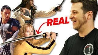 Download How Realistic Are Movie Sword Fights? Video