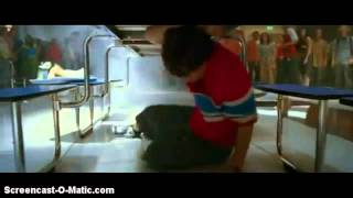 Download Sky High (2005) Movie Scene - Will Stronghold Vs Peace [Cafetaria Fight Scene] Video