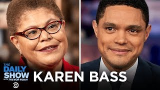 Download Karen Bass - Trump's War Powers, Impeachment and the Congressional Black Caucus   The Daily Show Video