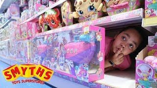 Download BEST HIDE AND SEEK SPOT In Smyths Toys Store   Toys AndMe Video
