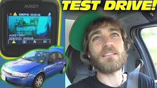 Download 1st TEST DRIVE w/ 200lbs Subwoofers & EXO's AUKEY DASH CAMERA REVIEW Video