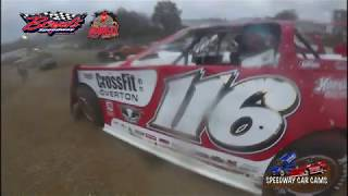 Download #116 Brandon Overton - Winner - Crate Late Model - 11-18-17 Boyd's Speedway - In Car Camera Video