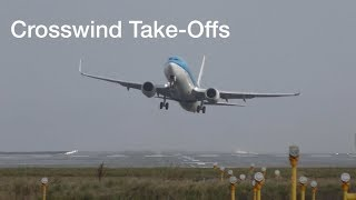 Download Don″t Watch this if you have fear of flying Manchester airport impressive Crosswind take offs Video