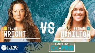 Download Tyler Wright vs. Bethany Hamilton - Round Four, Heat 2 - Outerknown Fiji Women's Pro 2017 Video