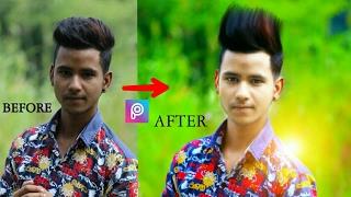 Download Clean face + Hide pimples + Make smart face + editing in Picsart | Picsart editing tutorial Video
