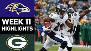Download Ravens vs. Packers | NFL Week 11 Game Highlights Video
