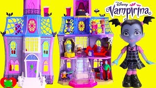Download Vampirina Doll House Scare B&B with Glitter LOL Surprise Doll Video