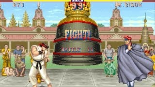 Download Street Fighter II: The World Warrior arcade Ryu Gameplay Playthrough Longplay Video