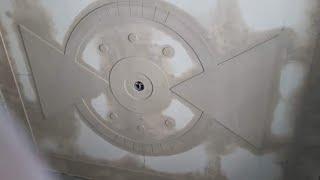 Download Ceiling art's minus plus design without colour Video
