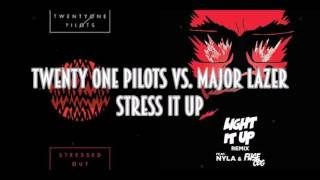 Download twenty one pilots vs. Major Lazer - Stress It Up (SimGiant Mash Up) Video
