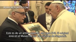 Download Martin Scorsese se reúne con el Papa Francisco Video